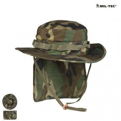 f4705e2f BRITISH WOODLAND R/S BOONIE WITH NECK FLAP - Boonie Hat - Headgear -  Armygross.se