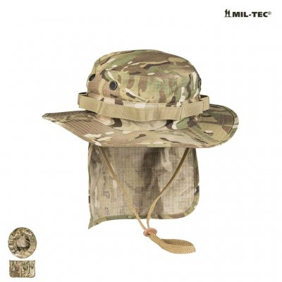 BRITISH Multicam R/S BOONIE WITH NECK FLAP