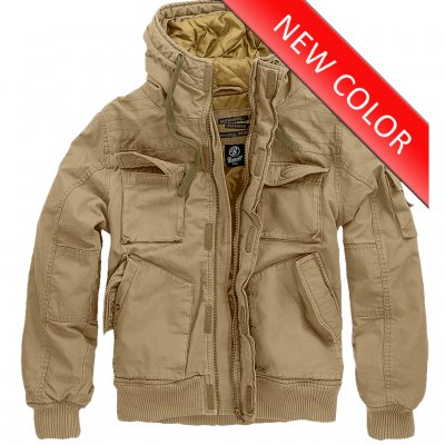 Brandit Bronx Winter Jacket - Camel
