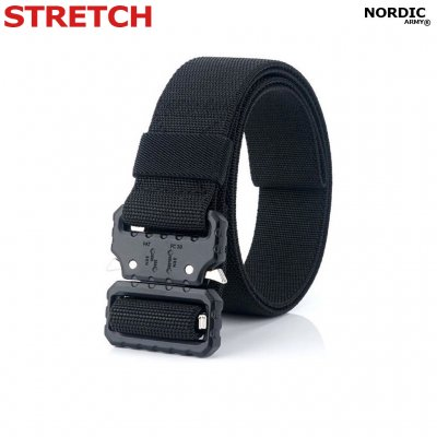 Nordic Army Tactical Bälte Stretch- Svart