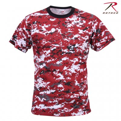 Rothco Digital Red Camo T-Shirt