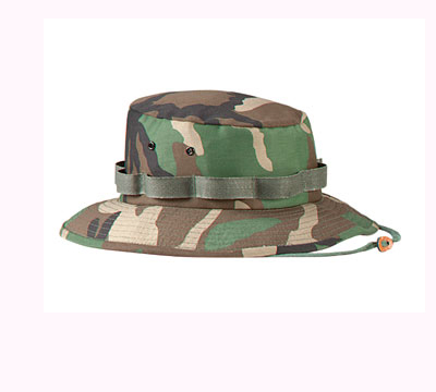 Rothco Jungle Hats i Woodland Camo