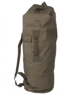 OD US POLYESTER DOUBLE STRAP DUFFLE BAG