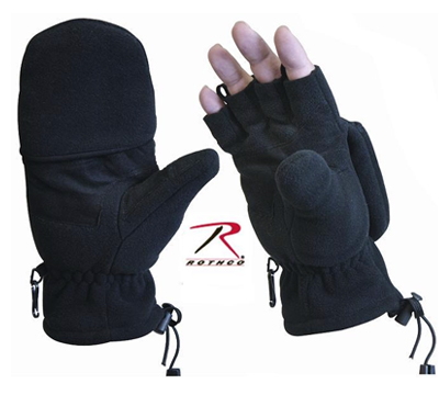 FLEECE SNIPER Fingerless handskar