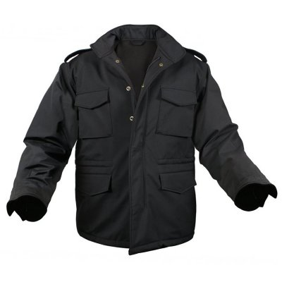 ROTHCO SOFT SHELL TACTICAL M-65 JACKET-BLACK