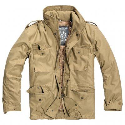 4384a4625a Brandit M65 Jacket - Camel - M65 Jackets - Clothing - Armygross.se
