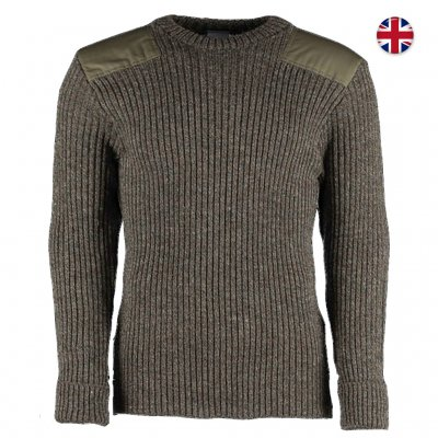 Brittisk M87 Tröja 100% ull - Derby Tweed
