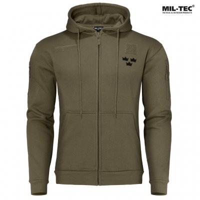 Mil Tec Royal Crown Hoodie - Army Green