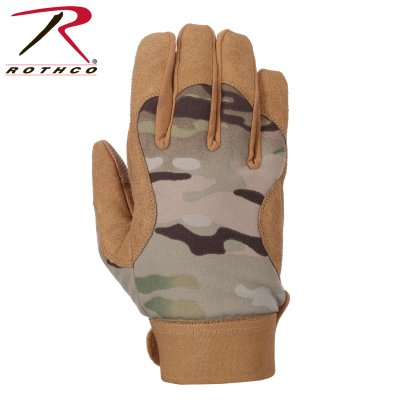 Rothco Military Mechanics Handskar - Multicam