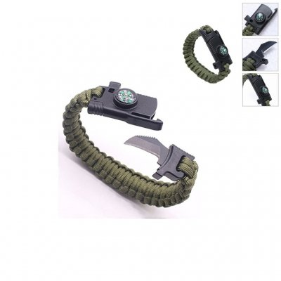 Survival Paracord Armband - OD