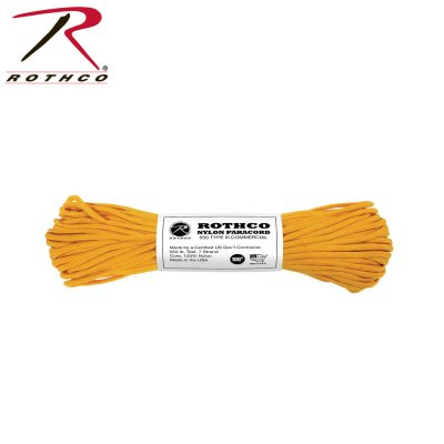 Paracord 550 Original GOLDENROD 30meter