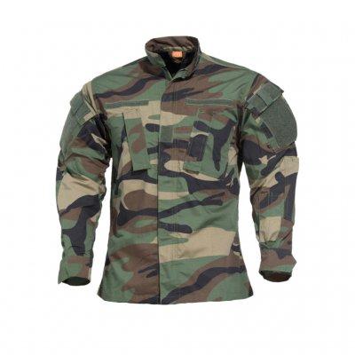 cf4687aeb5a2a9 Pentagon ACU Jacket & Trouser - Woodland Camo - Field Suit - Clothing -  Armygross.se