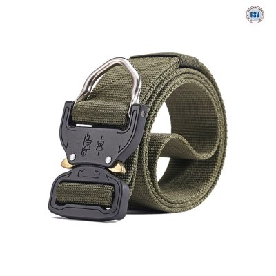 Quick Release Belt D-Ring - Green