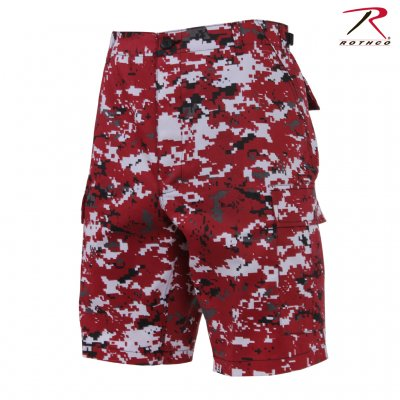 Rothco Digital Red Camo Shorts