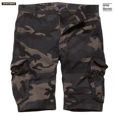 rowing shorts dark camo vintage industries militärkläder 17721cfd8b28a