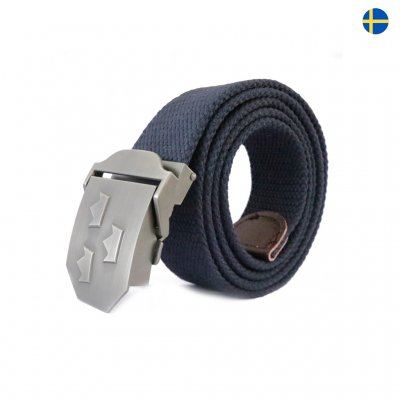 Nordic Army Royal Crown Belt - Navy Blue