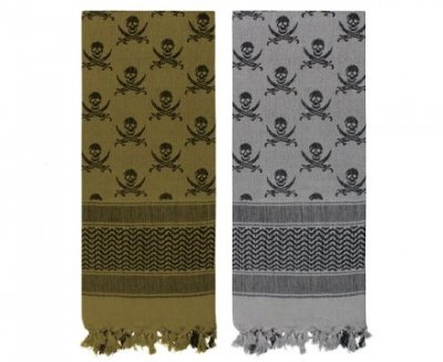 Real Spec SKULLS SHEMAGH - TACTICAL DESERT SCARF