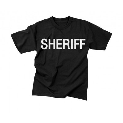 Rothco Law Enforcement Sheriff T-Shirt Svart