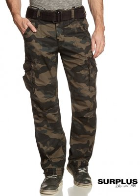 Surplus premium byxa black camo