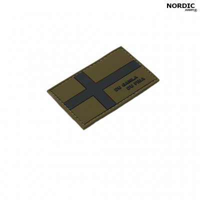 Nordic Army® Swedish Flag DU GAMLA DU FRIA - Army Green