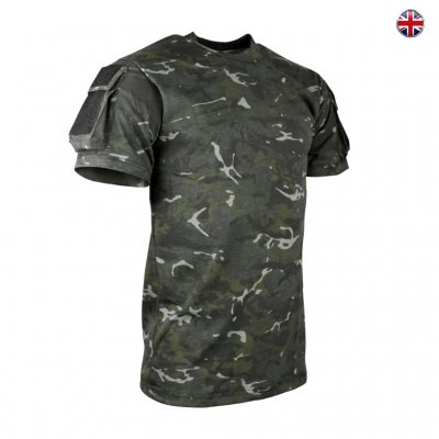 Brittisk Tactical T-Shirt - BTP Camo