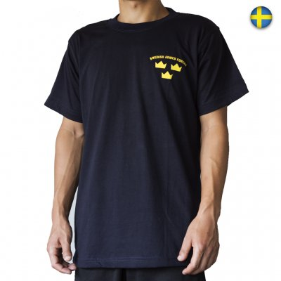 Nordic Army T-Shirt - SWEDISH ARMED FORCES - Marinblå