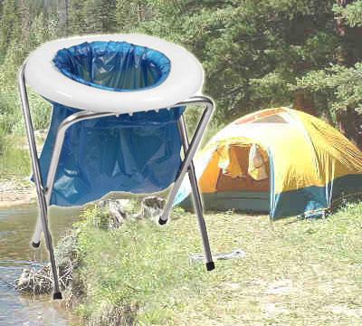 Bra Bärbar toalett för camping, campingtoalett - Army Gross ZD-41
