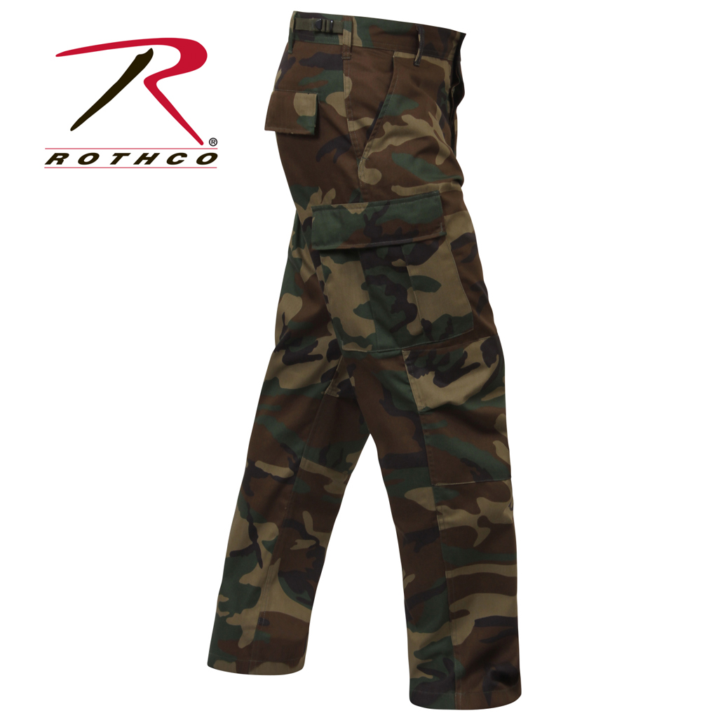 89c60711 Rothco BDU Bukser - Militære bukser & Jaktbukse - Militære Klær ...