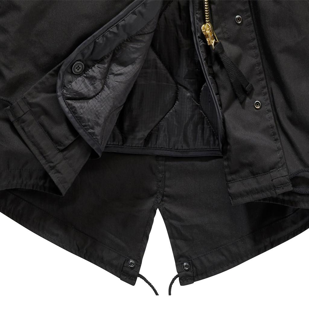 Brandit M51 Parka Svart Vinterjackor Militärkläder