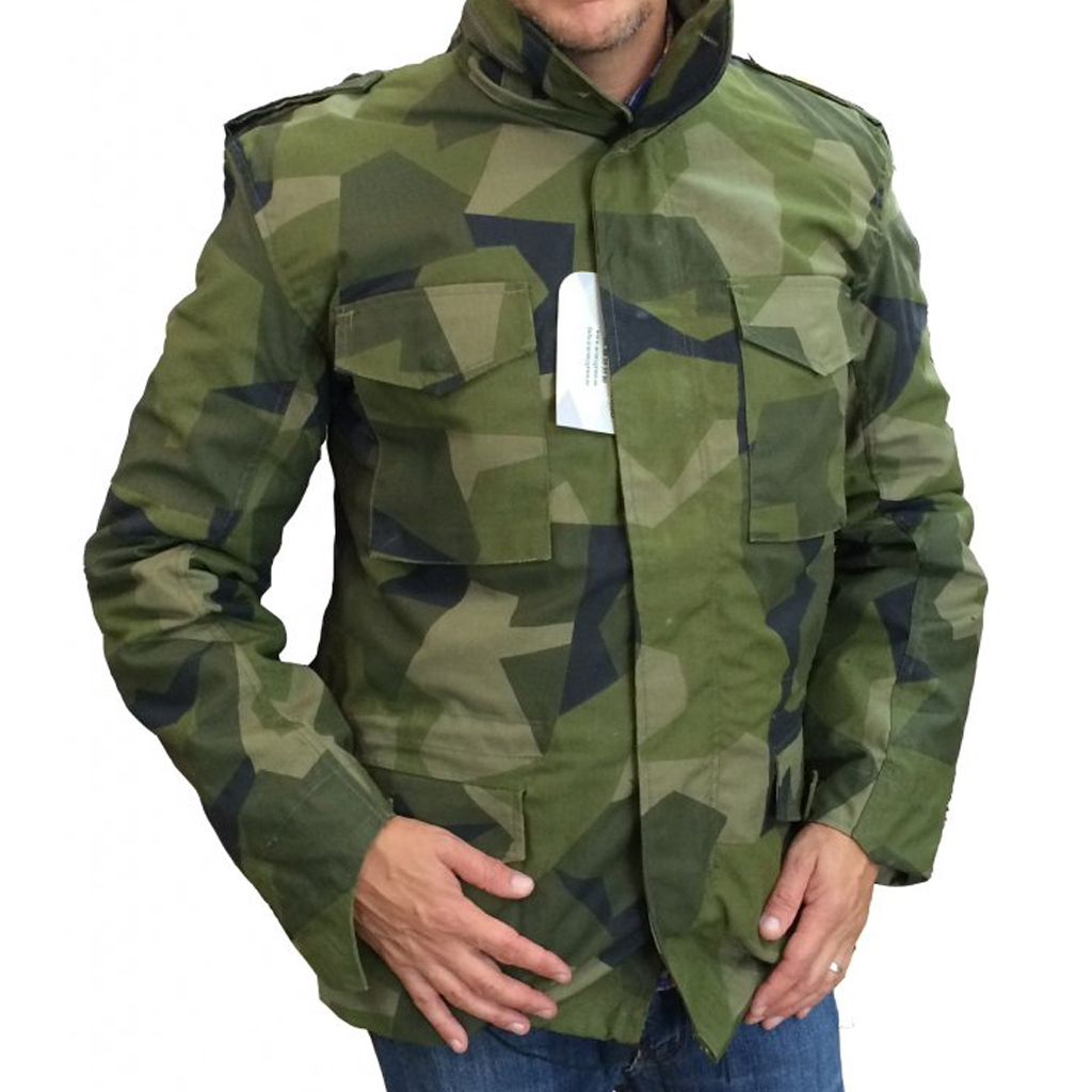 Flannel Motorcycle Jacket >> Nordic Army M65 Jacket - M90 Camo - M65 Jackets - Clothing - Armygross.se