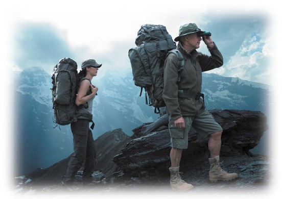 Max Fuchs Alpin Army-Ryggsäck 110L - Olivgrön - Backpack   Bags ... 7d62006e539af