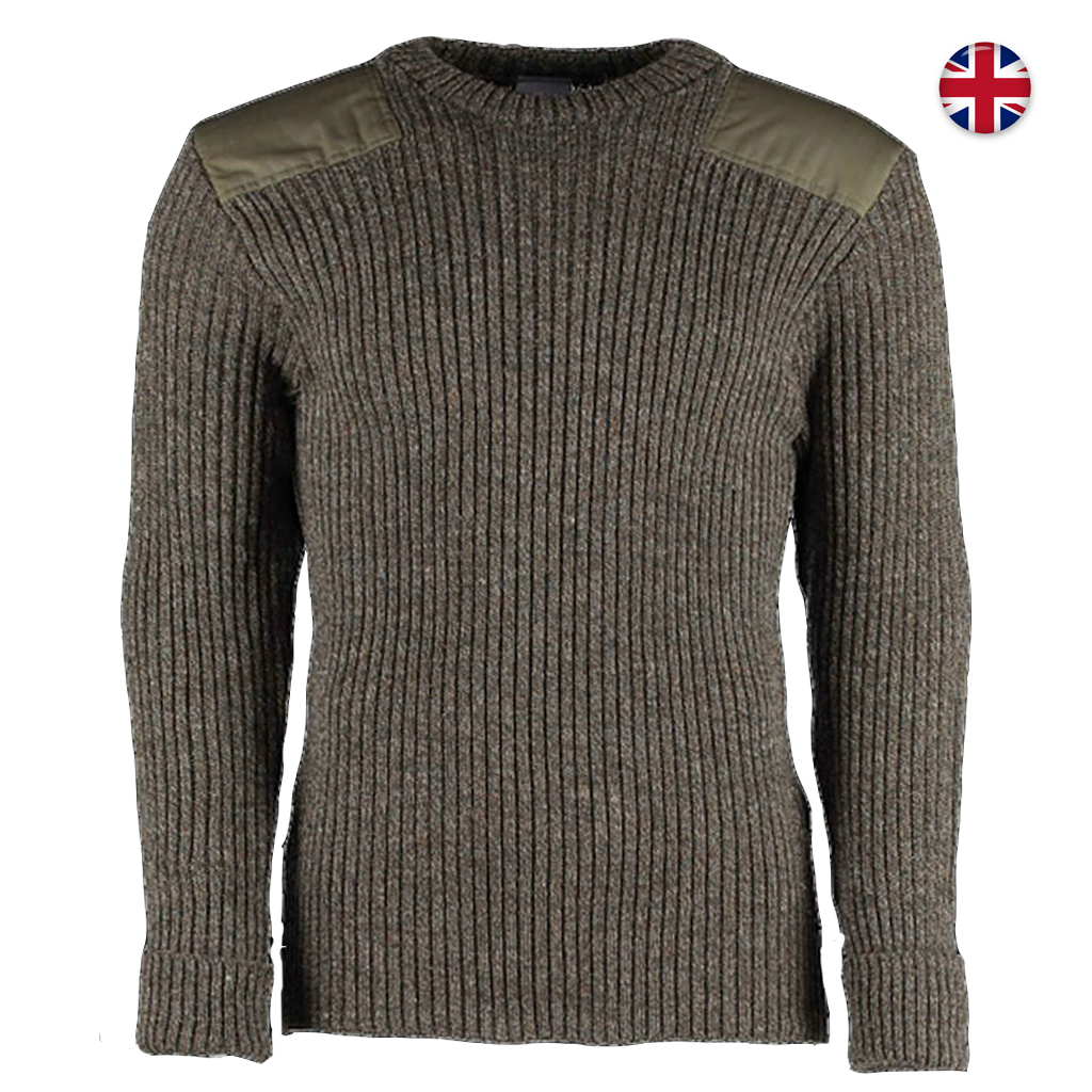 new product 87578 9fa63 Brittisk M87 Tröja 100% ull - Derby Tweed
