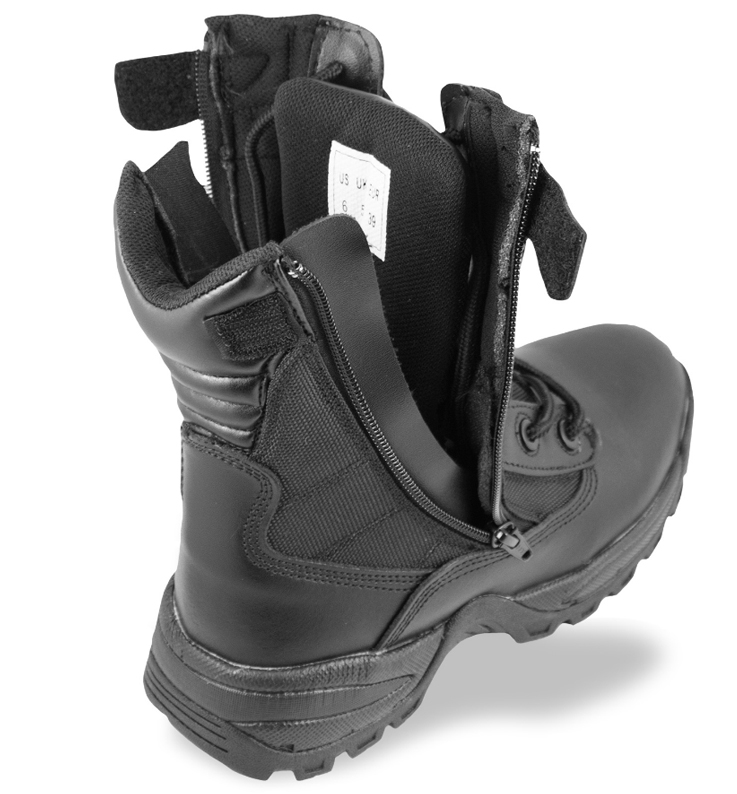 da73a0dd28c Mil Tec Boots SWAT 2 Side Zip - Black - Boots - Shoes - Armygross.se