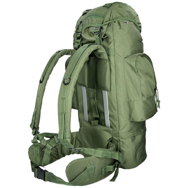Militär ryggsäck för vandrare RANGER 75 liter OD Army Gross