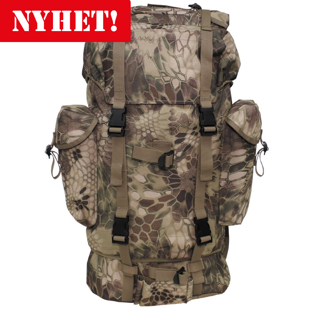 58ecd7b80e84 Max Fuch Combat Backpack 65L - FG Snake Camo
